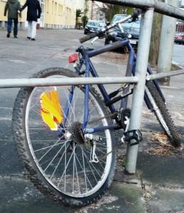 Fahrradleiche Beethovenstraße