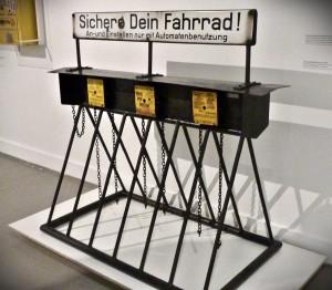 ein Automat zur Fahrradsicherung