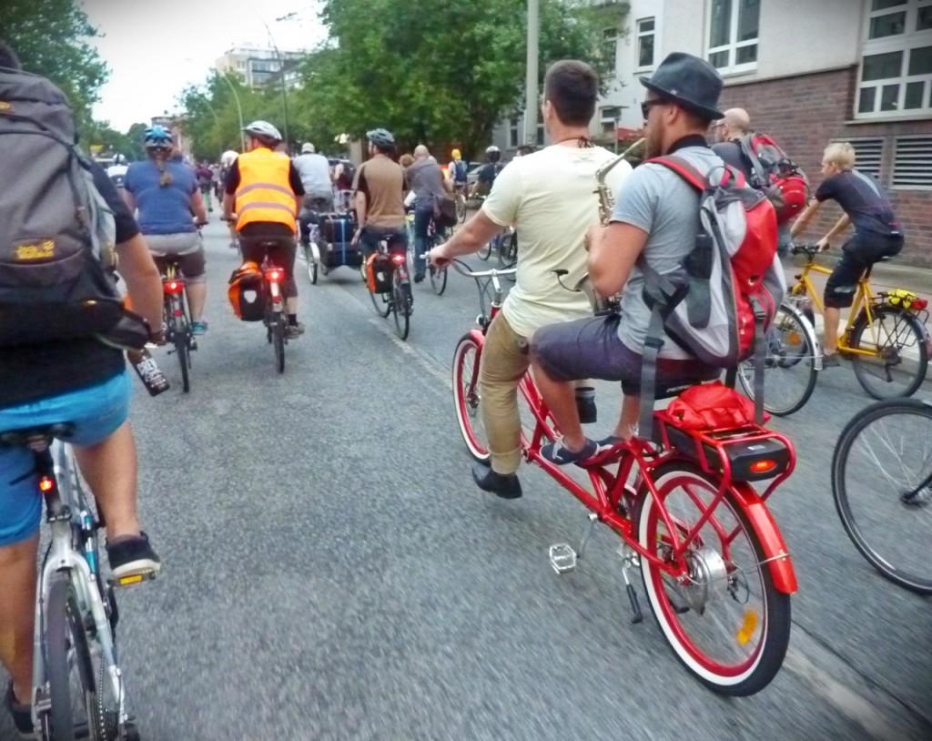 music on bikes