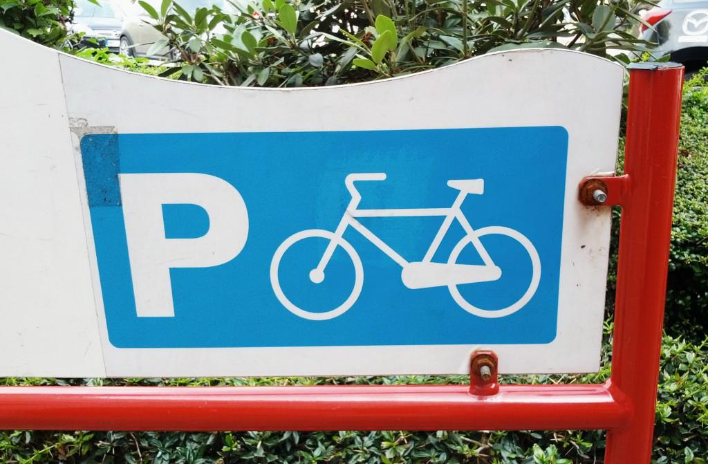 Hier sind Radfahrer als Kunden geschätzt.