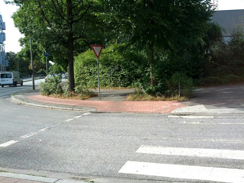 Ecke Martinistraße & Tarpenbekstraße
