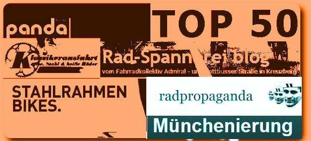 TOP 50 German Bike Blogs 2014