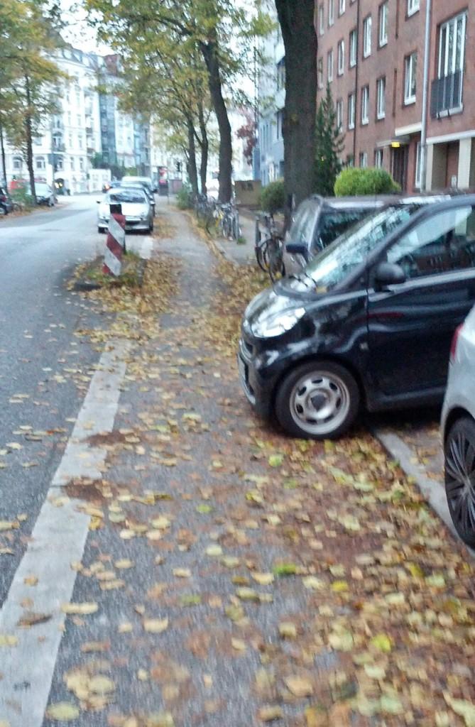 Fährt er schon oder parkt er noch?