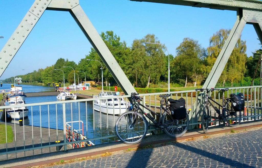 Schleuse am Elbe-Lübeck-Kanal
