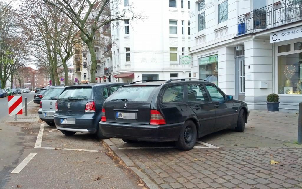 kuschelig geparkt