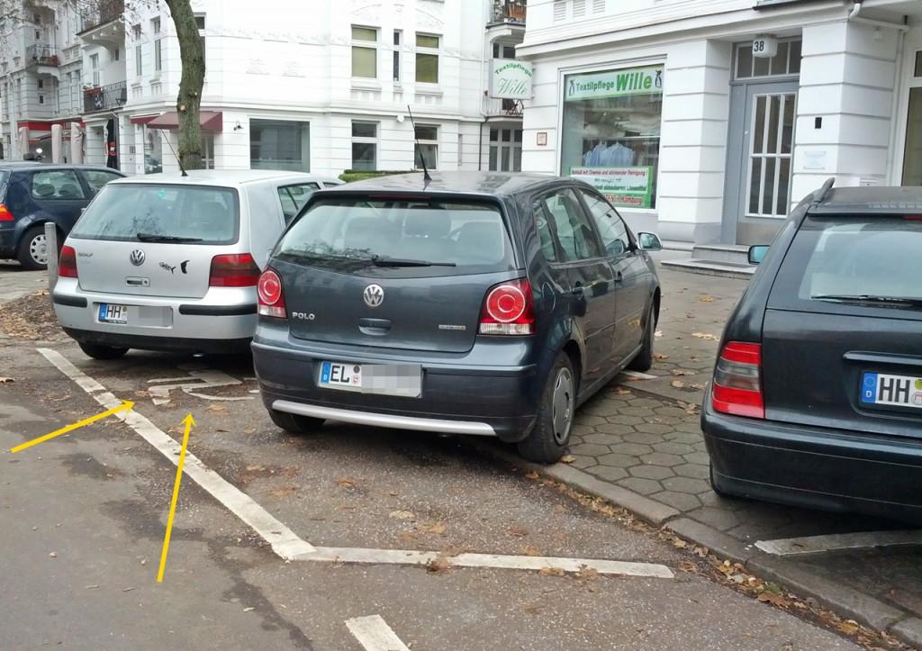 gut zugeparktes Symbol