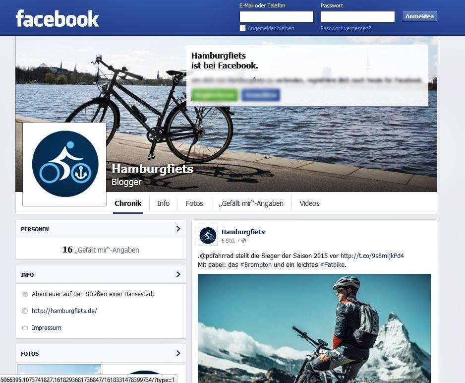 hamburgfiets auf facebook