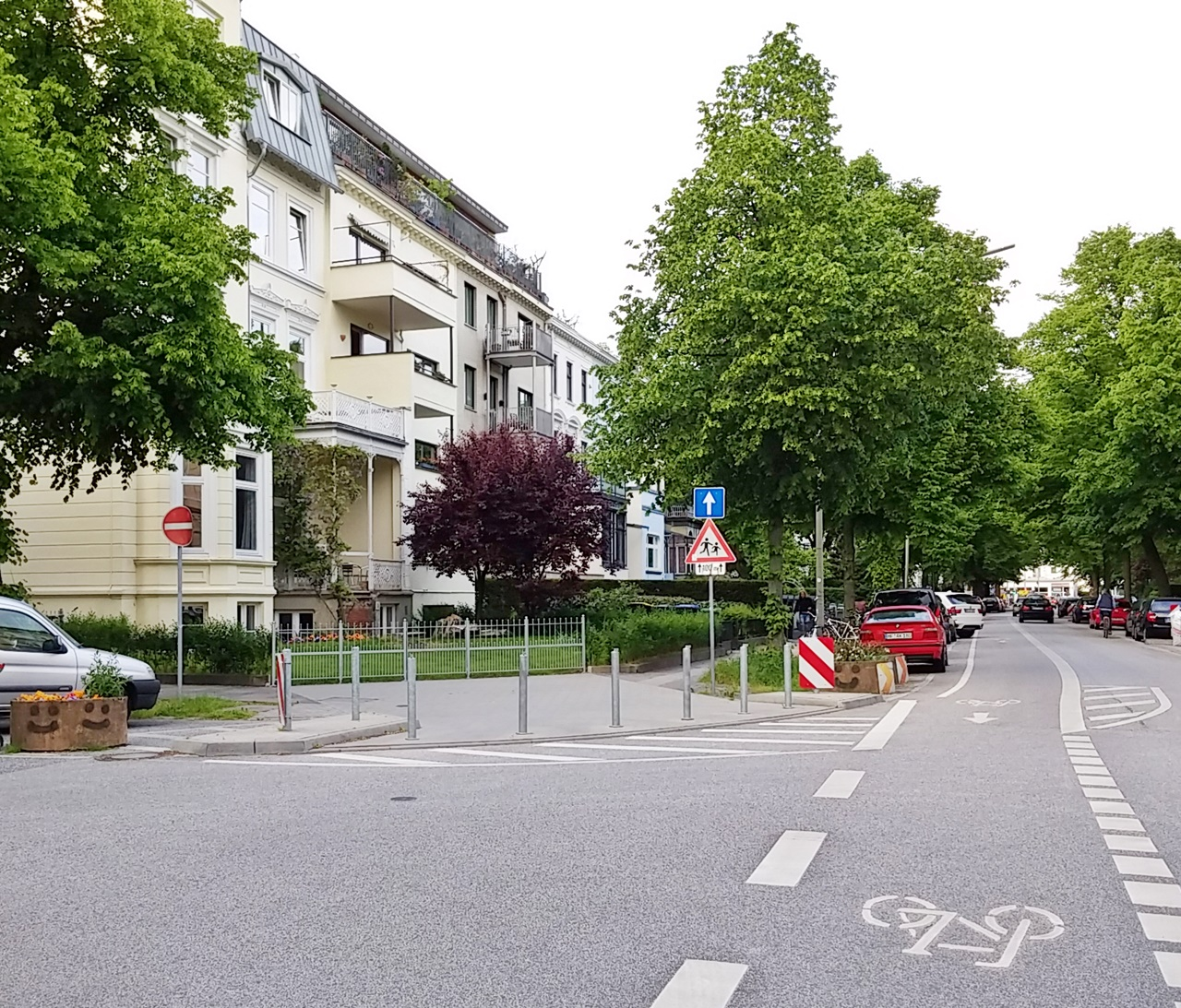 Graumannsweg Ecke Papenhuder Straße