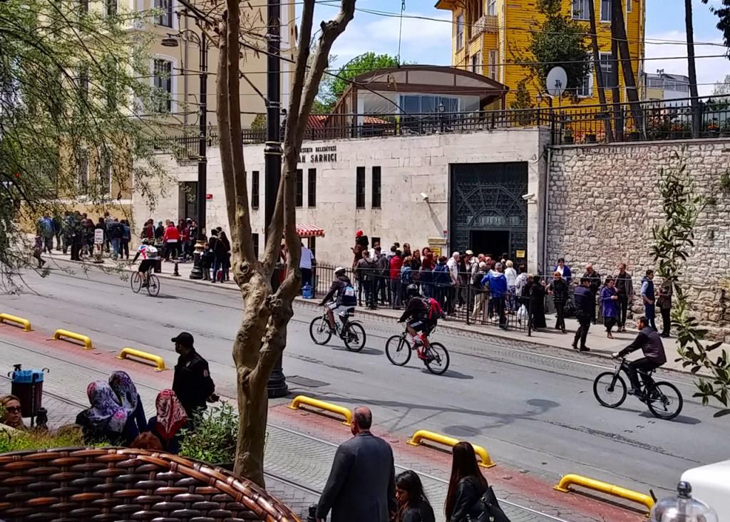 Radrennen in Istanbul