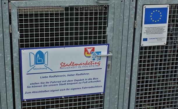 Neustadt in Holstein begrüßt Radfahrende