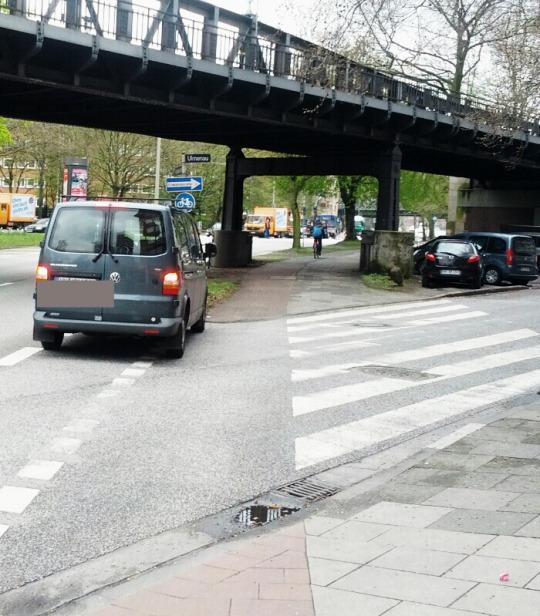 Schürbeker Straße / Ulmenau vor de