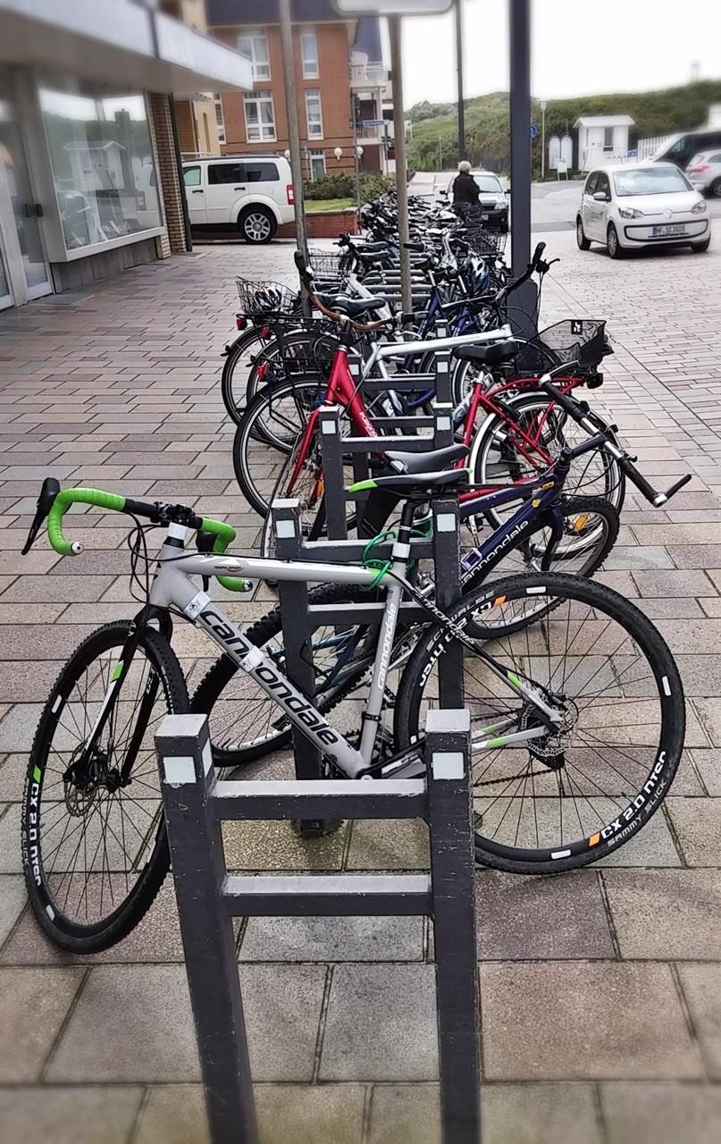 Erfreulich viele Kreuzberger Bügel in Westerland