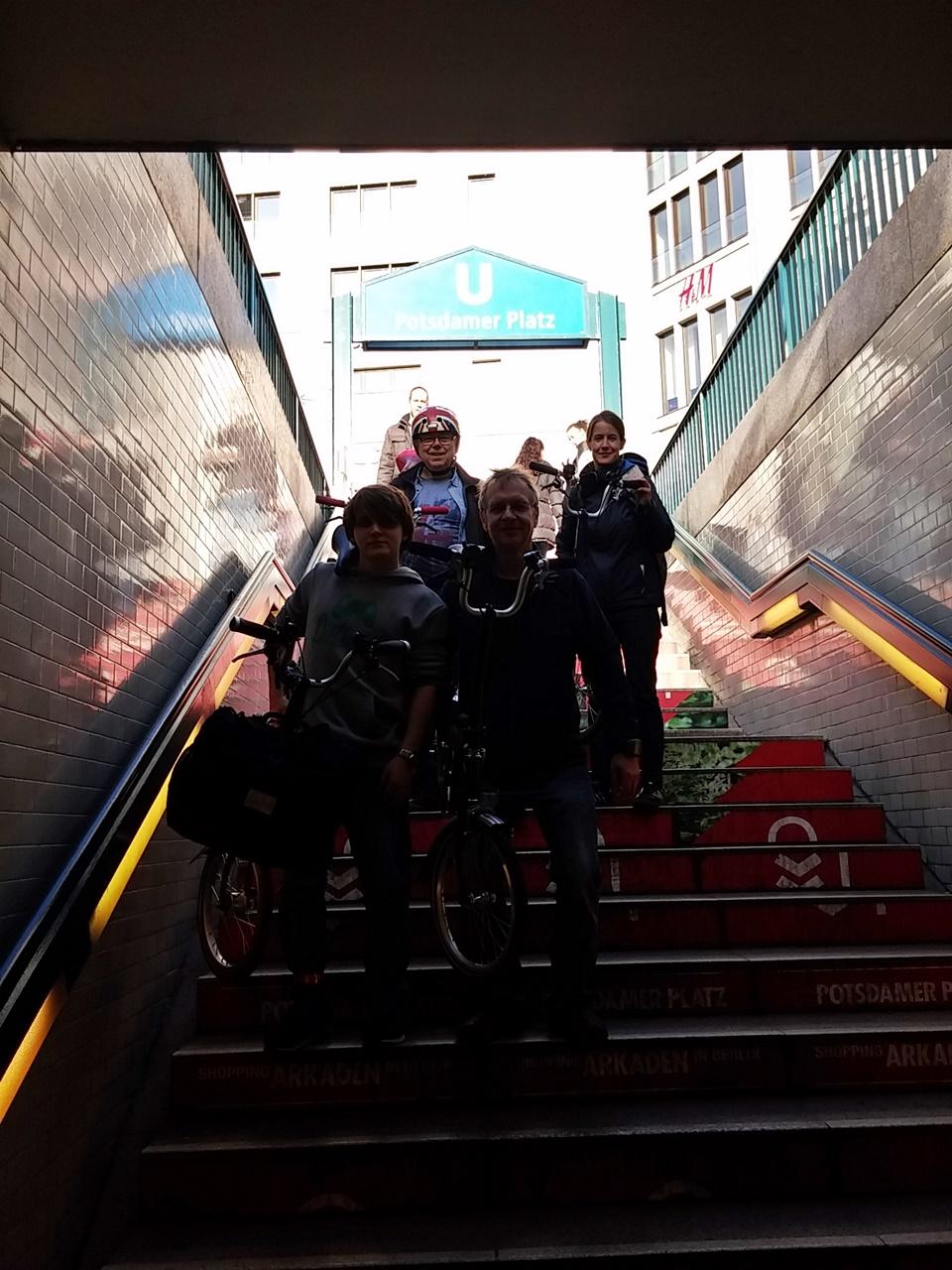DIE Stärke des kleinen Rades: mal fix in die U-Bahn wechseln