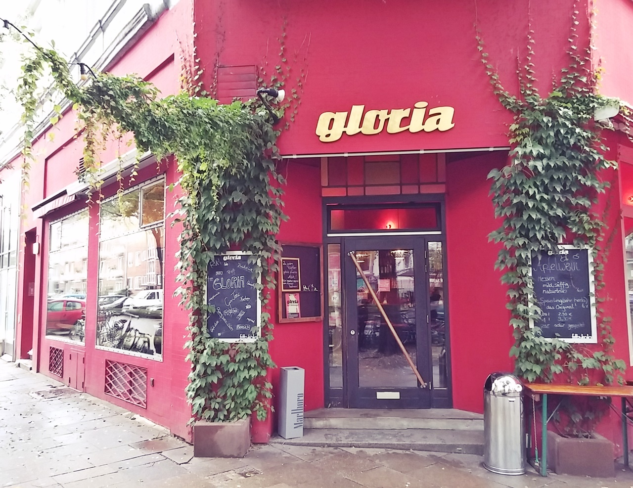 Cafébar gloria in der Bellealliancestraße