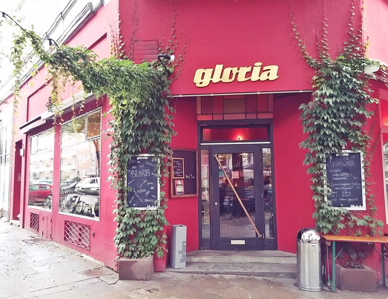 Cafébar gloria in der Bellealliancestraße