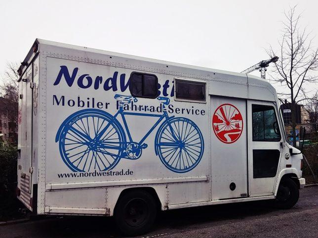 Mobiler Fahrradservice von Nordwestrad