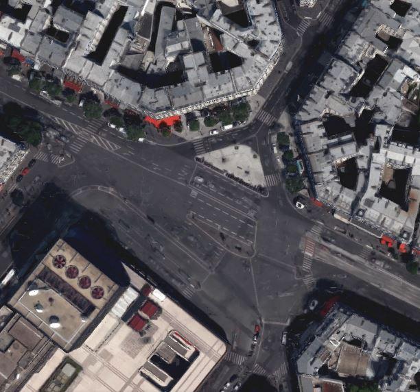 Paris - Place du 18 Juin 1940 [Quelle: google Earth]