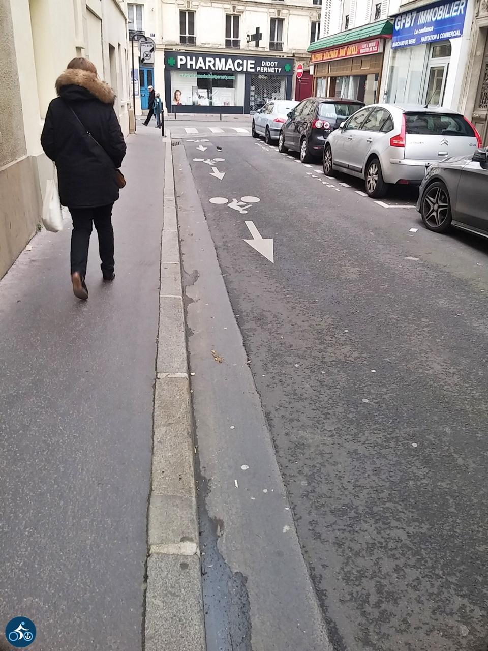 Radfahren gegen die Einbahnstraße erlaubt