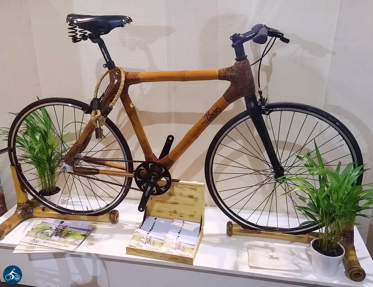 Rad aus Gras - genauer aus Bambus - von MyBoo