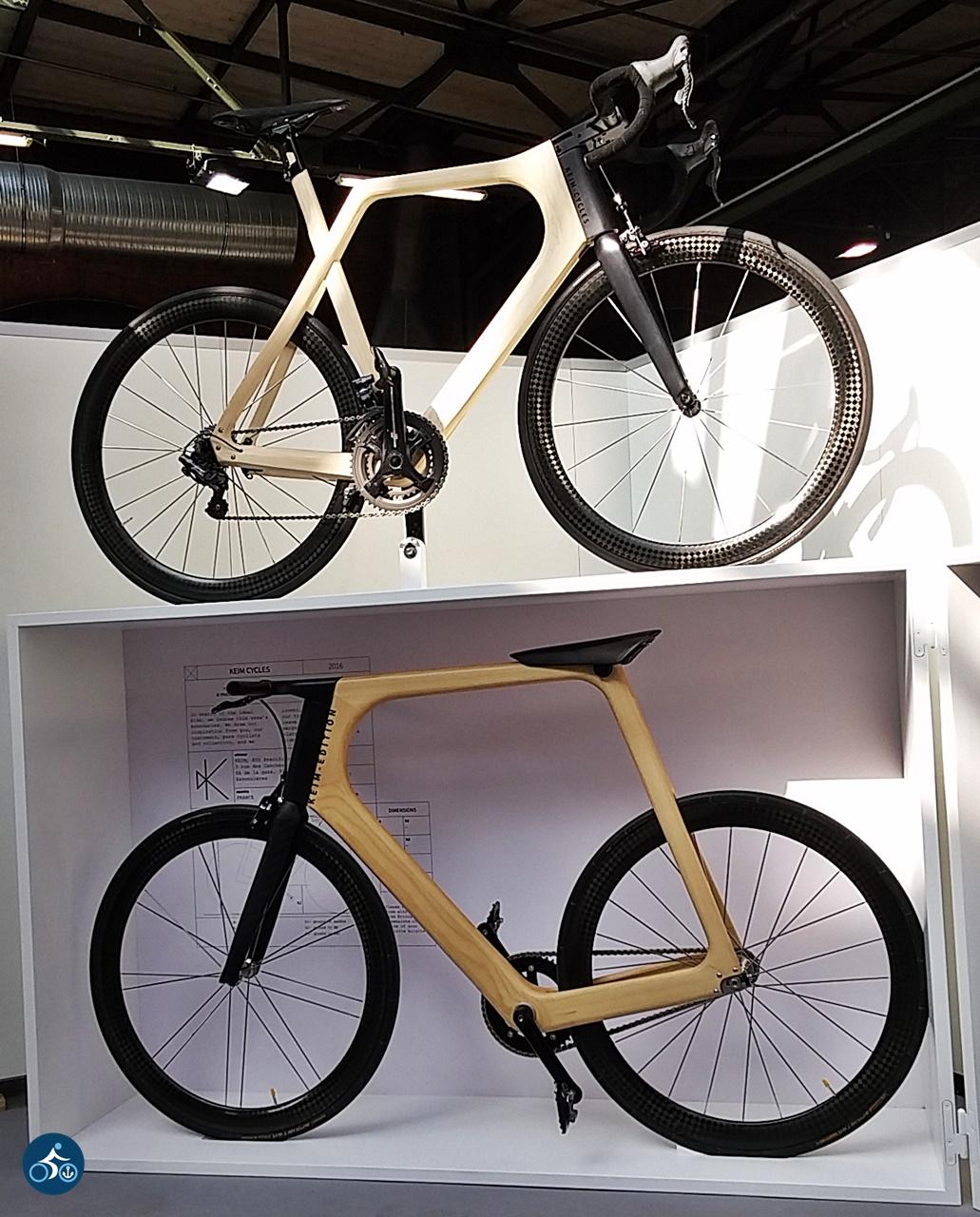 Holzrad von KEIM cycles auf Frankreich mit Option zu geschnitzter Galionsfigur