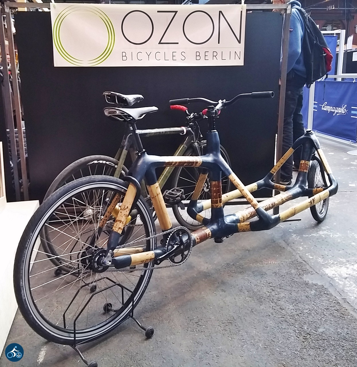 Lastenrad aus Bambus von OZON