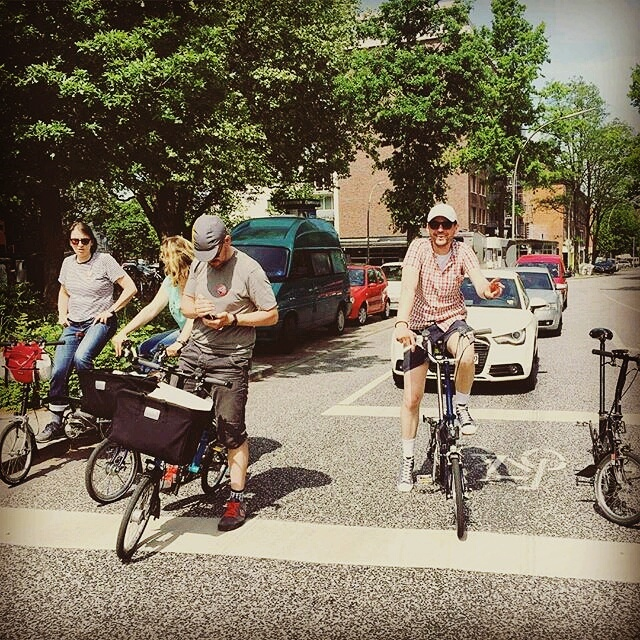 Symbolfoto #hamburgbromptonpower - Dank an Christian von bikespresso!