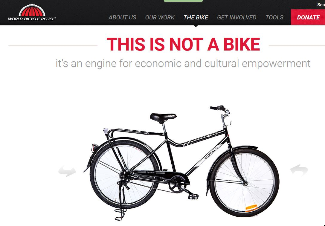 Screenshot World Bicycle Relief